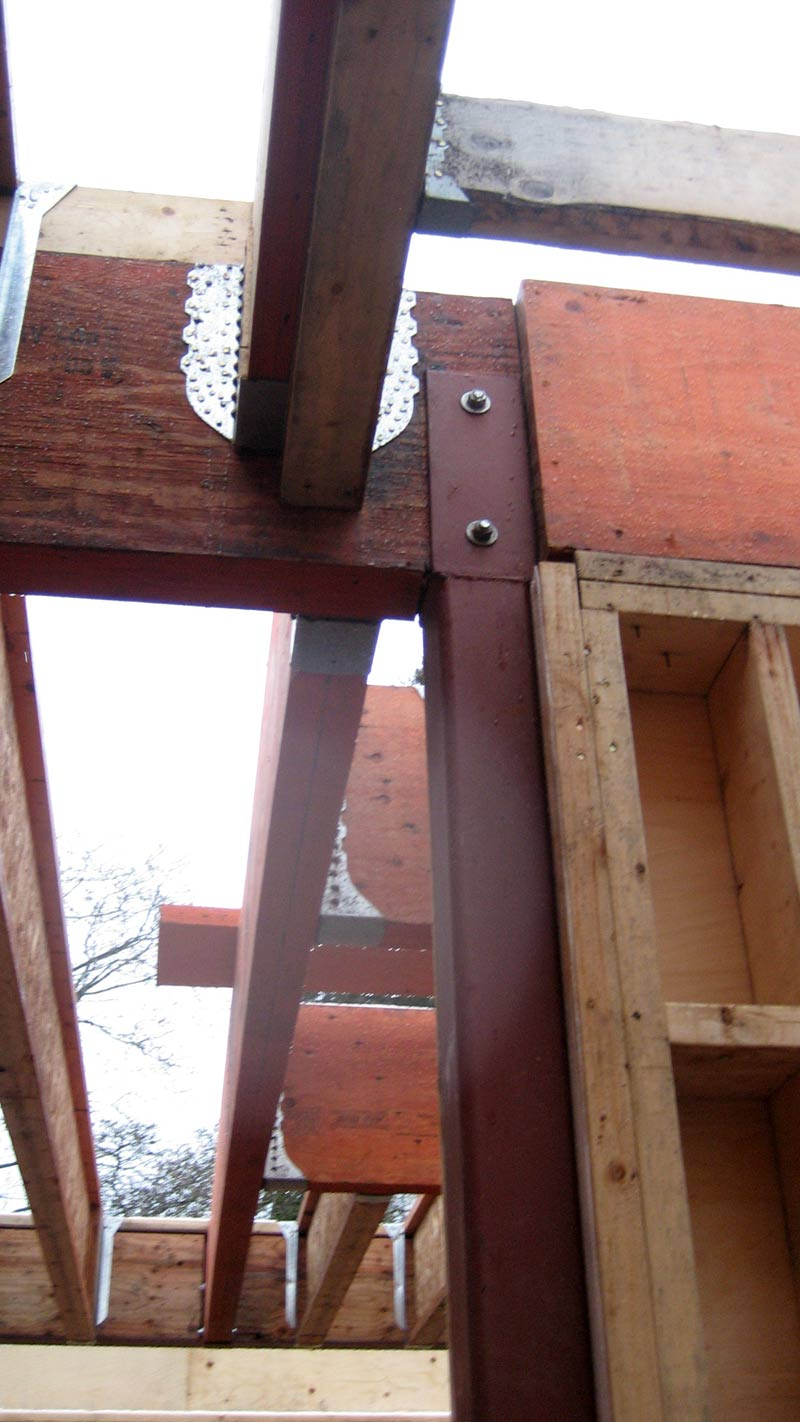 Structure Steel To Tji Connection 171 Home Building In