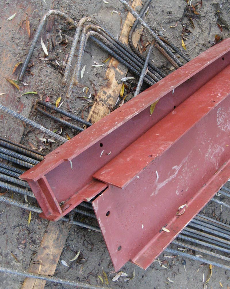 coped-steel-beams-with-stiffener-plates-prepped-up-for-installation