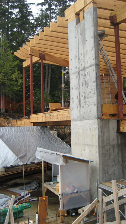 Whistler Glulam Connections 171 Home Building In Vancouver