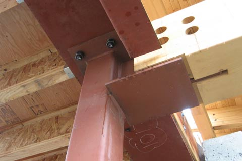 Structure Steel To Glulam 171 Home Building In Vancouver