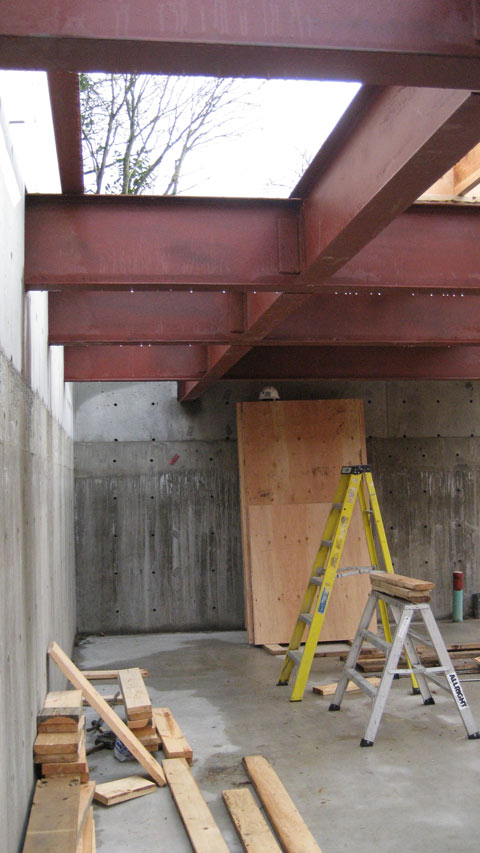 steel+beam-to-concrete+wall-connection-steel+beam-to-steel+beam-connection