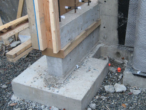 Cypress Footings 171 Home Building In Vancouver