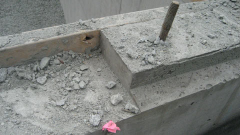 sloping-corbel-in-concrete