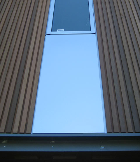 Aluminum siding vertical aluminum siding for Horizontal metal siding