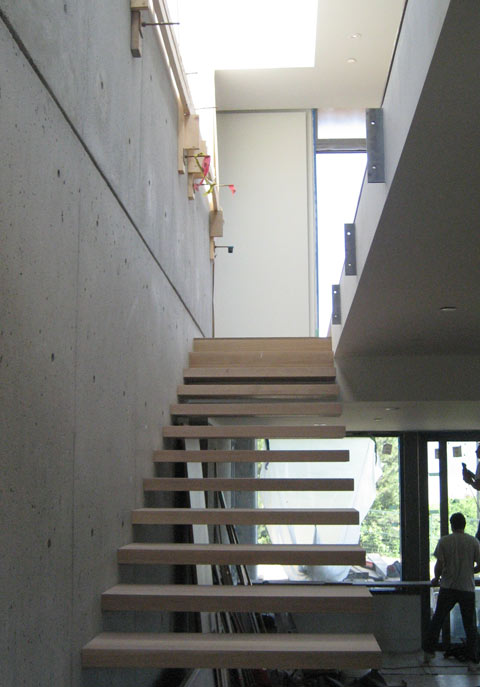 Charming Cantilevered Stair 03