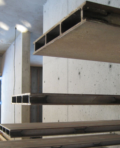 Detail Cantilevered Steel Stair 171 Home Building In Vancouver