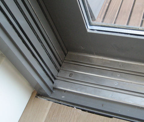 Detail Tolmie Sliding Door 171 Home Building In Vancouver