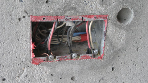 electrical-box-in-concrete-wall