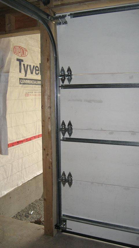 Overhead Sectional Door With Man Door : Detail overhead door « home building in vancouver