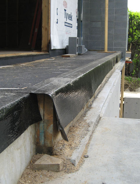 Detail Waterproofing Deck 171 Home Building In Vancouver