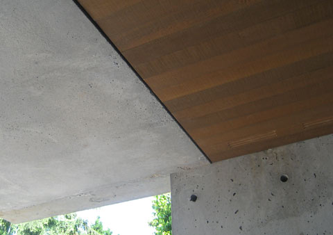 soffit-installed