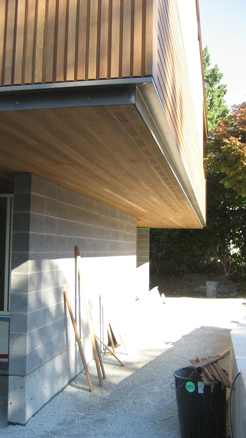 Detail Cypress Cedar Soffit Amp Siding 171 Home Building In