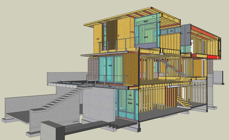 CYPRESS-ST-VIRTUAL-CONSTRUCTION-HOUSE-FRAMING-WITH-SKETCHUP-HOUSE-SECTION
