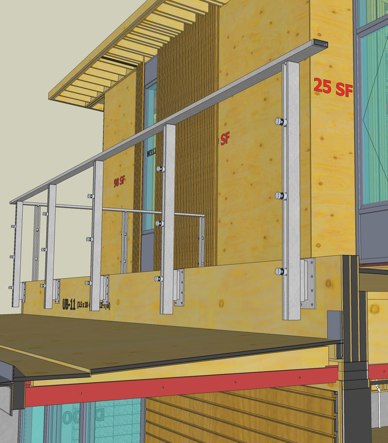 CYPRESS-ST-VIRTUAL-CONSTRUCTION-HOUSE-FRAMING-WITH-SKETCHUP-RAILING
