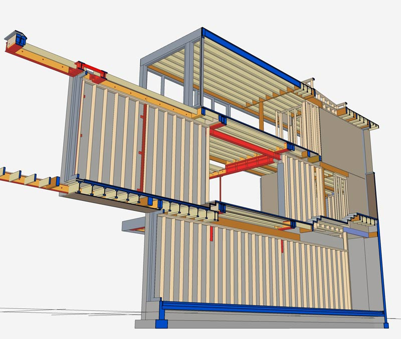 RUSSET-VIRTUAL-CONSTRUCTION-HOUSE-FRAMING-AND-COORDINATION-WITH-SKTECHUP-STUDIO-TM.COM-LONGITUDINAL-SECTION
