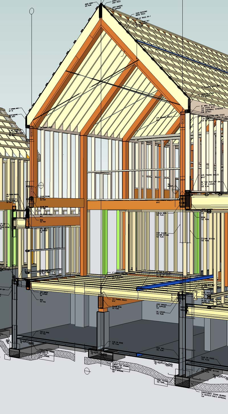 WHISTLER HOUSE VIRTUAL CONSTRUCTION CLOSE UP OF CROSS SECTION STUDIO-TM-HOUSE-FRAMING-WITH-SKETCHUP