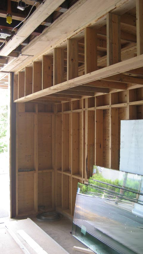 Detail Bulkhead Framing 171 Home Building In Vancouver
