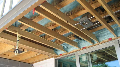 soffit-framing-over-spray-foam-insulation