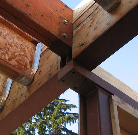 Structure Steel Beam 171 Home Building In Vancouver
