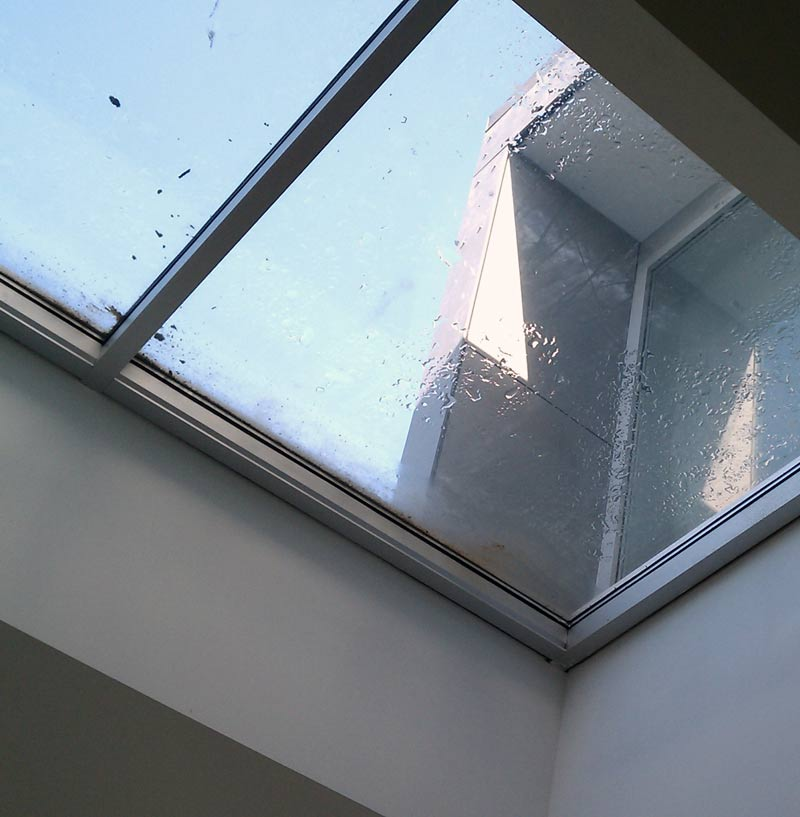 LOW-SLOPE-SKYLIGHT-FROM-OUTSIDE-LOW-SLOPE-AND-WATER-POOLING-RESIDUE