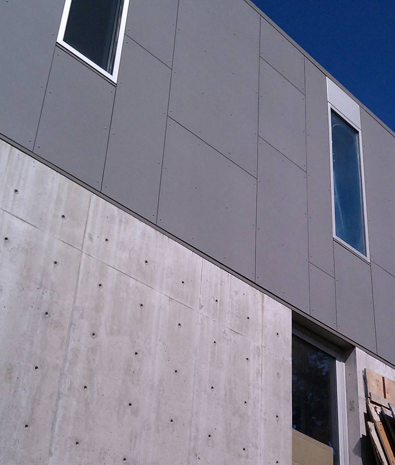 Detail Cementitious Panel 171 Home Building In Vancouver