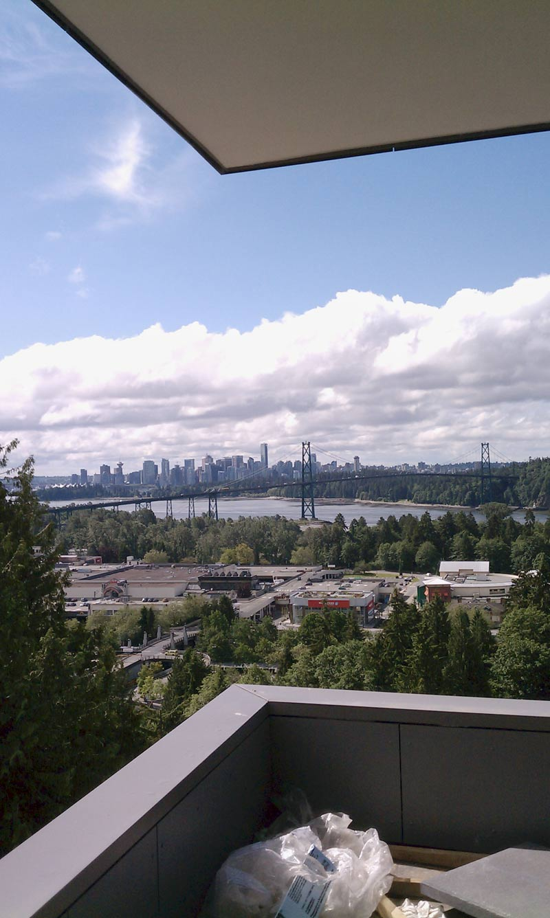 VIEW-FROM-DECK---LIONS-GATE-BRIDGE-VANCOUVER