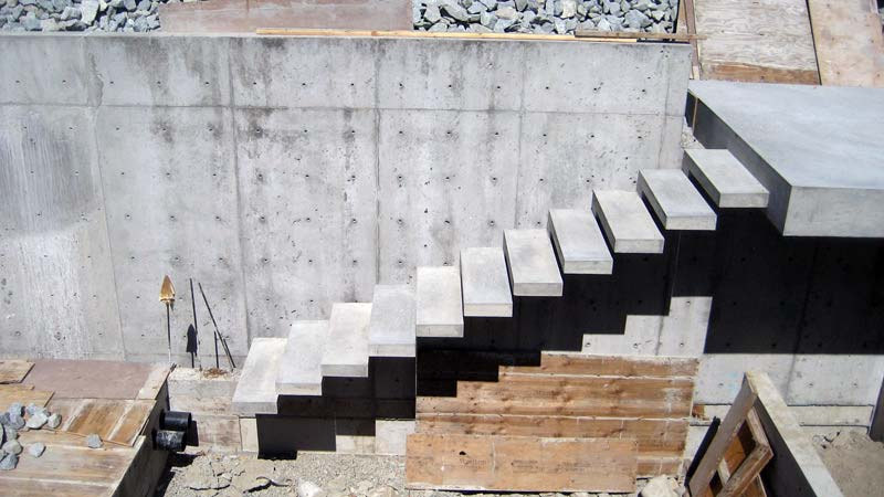 Best Concrete Stairs Stairs And Vancouver On Pinterest 400 x 300