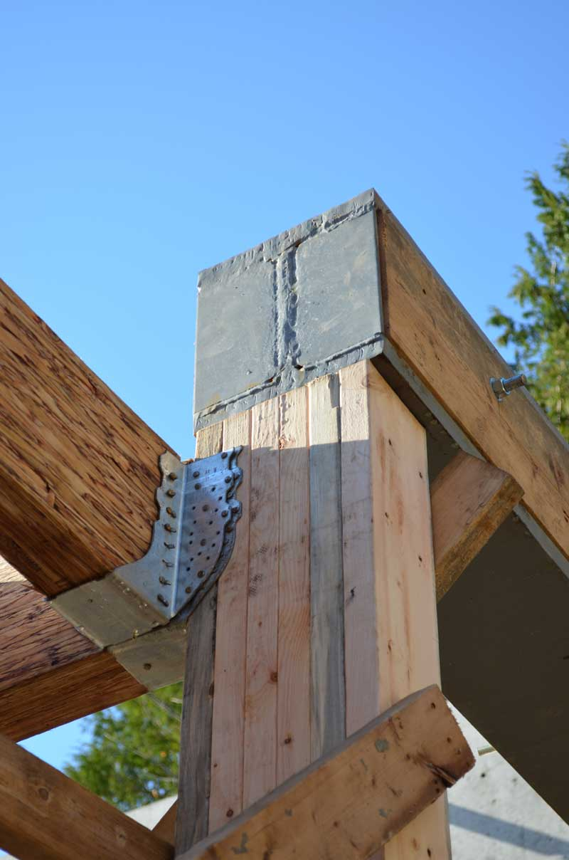Wood Beam Construction ~ Structure steel to wood « home building in vancouver