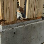 built-up-stud-column-over-concrete-foundation-wall