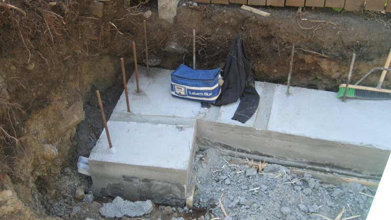 concrete-footings