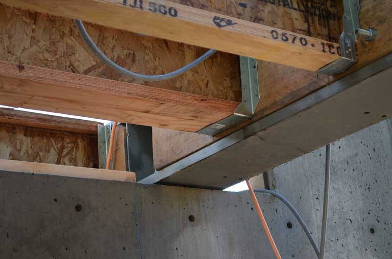 West Van Steel Beams 171 Home Building In Vancouver
