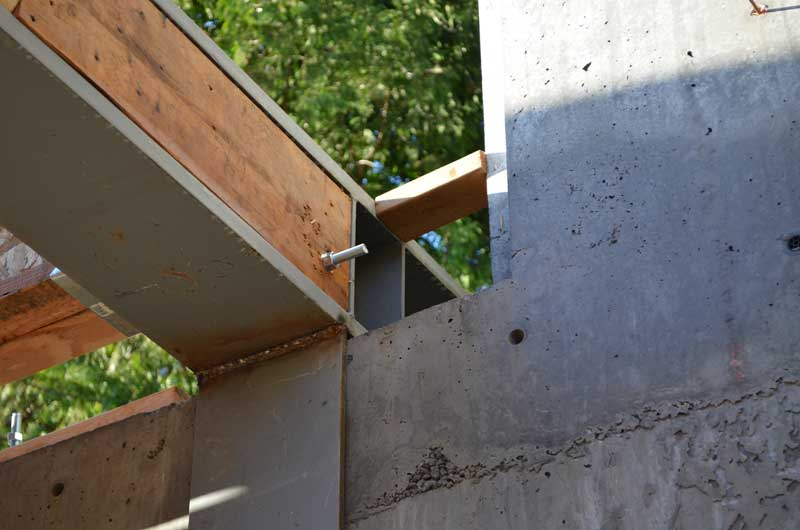 Structure Steel To Concr 171 Home Building In Vancouver