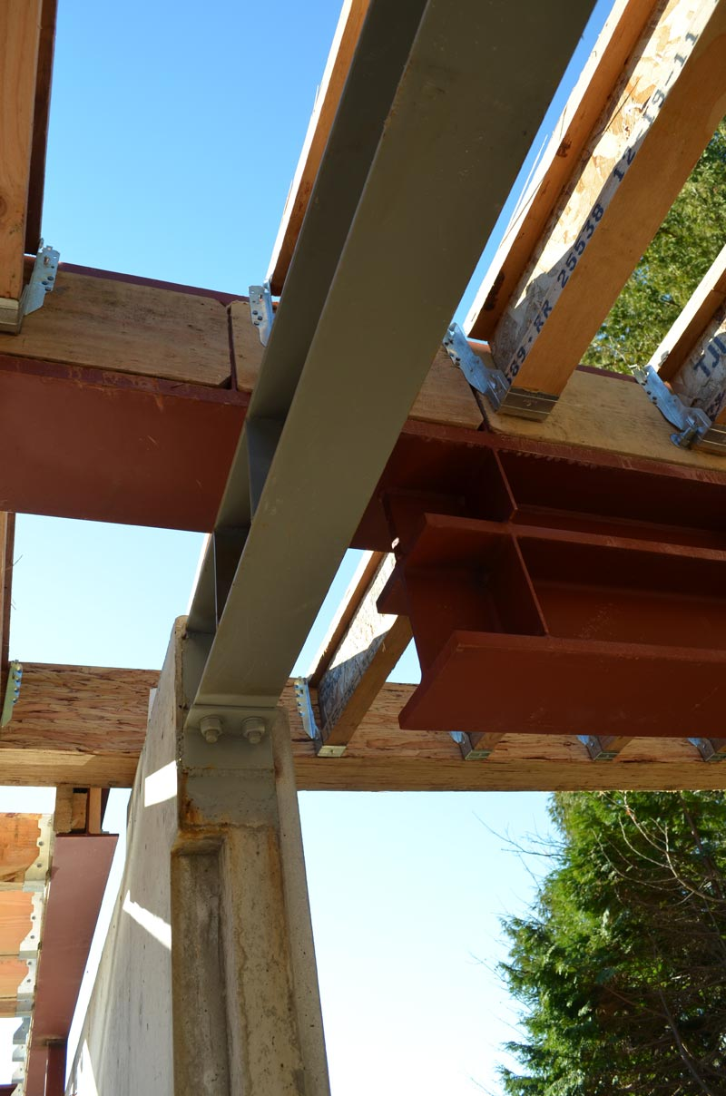 BUILT-UP-CANTILEVERED-STEEL-BEAMS