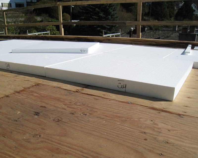 PREFORMED-RIGID-FOAM-APPLIED-TO-ROOF