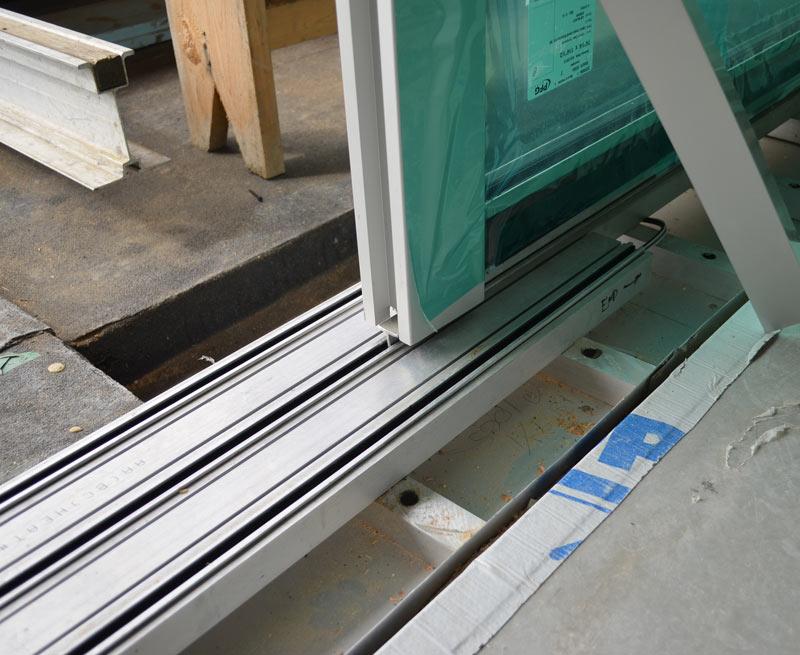 Detail Sliding Door 171 Home Building In Vancouver