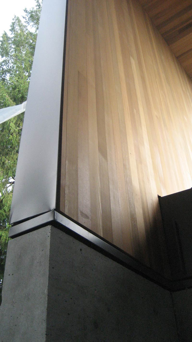 Thompson Cedar Soffit And Siding 171 Home Building In Vancouver