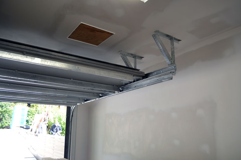 Garage Door Track : West van garage door « home building in vancouver