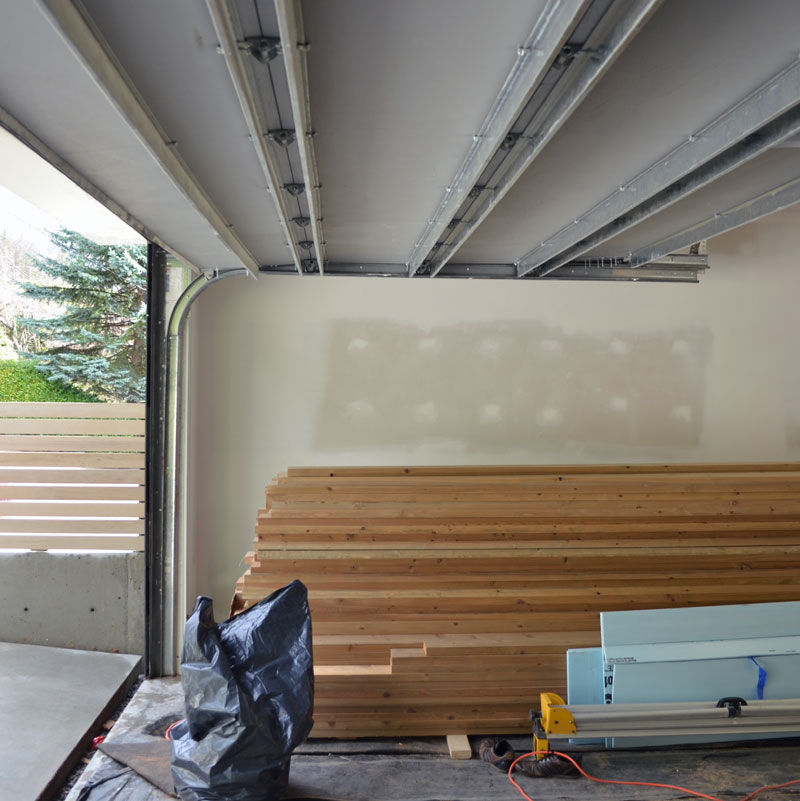 Garage Door Track : Case study west van « home building in vancouver