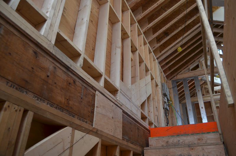 STAIR-WELL-WOOD-FRAMING