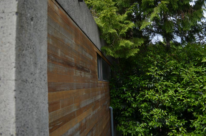 Case study eppich house home building in vancouver for Horizontal wood siding
