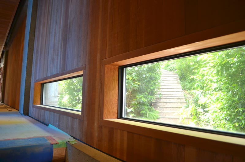 Interior Wall Wood Finishes : Case study eppich house ? home building in vancouver