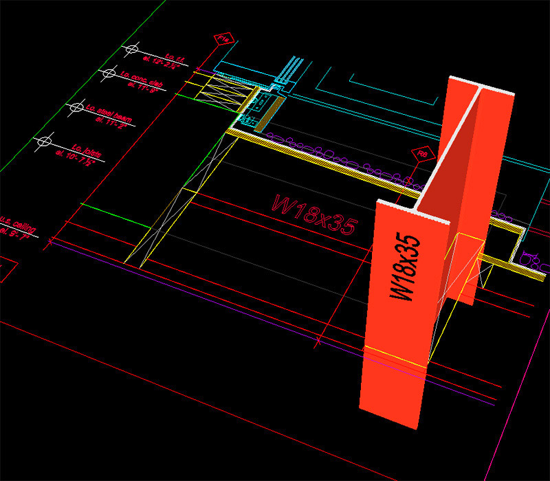 14.-Final,-fully-processed-DWG-file-imported-into-Sketchup.-3D-extrusion-commencing