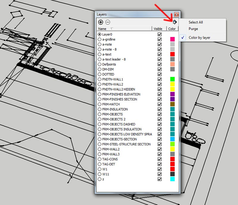 3.-Steps-for-adjusting-color-display-of-lines-in-Sketchup---importing-DWG-files-into-Sketchup
