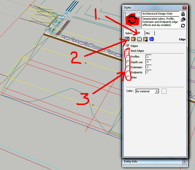5.-Steps-for-adjusting-line-display-in-Sketchup---importing-DWG-files-into-Sketchup