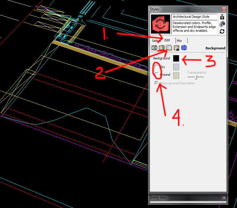 6.-Steps-for-adjusting-background-color-in-Sketchup---importing-DWG-files-into-Sketchup