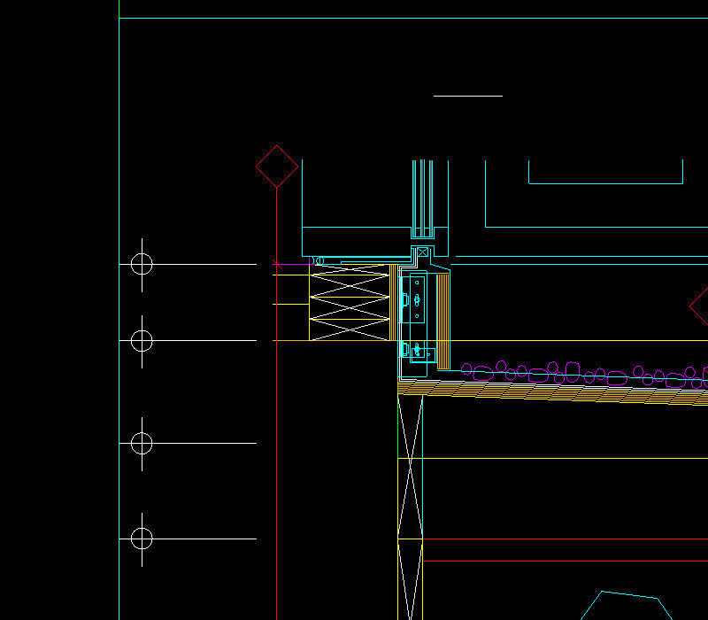 7.-Example-of-a-non-flattened-DWG-drawing-imported-into-Sketchup,-presented-in-a-2D-view
