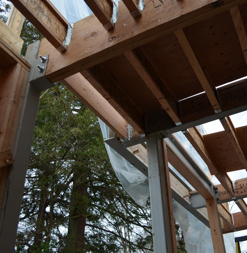 Point Grey 2 Framing 171 Home Building In Vancouver