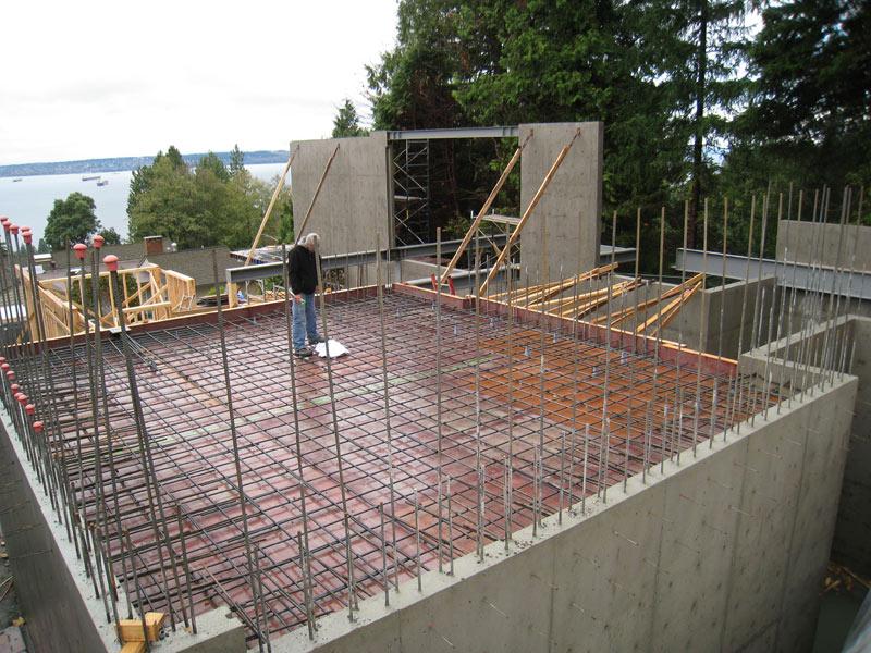 Suspended Concrete Slab Reinforcement