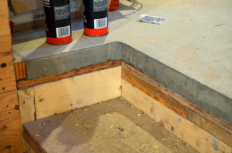Concrete floor over wood framing gurus floor for Wood floor over concrete